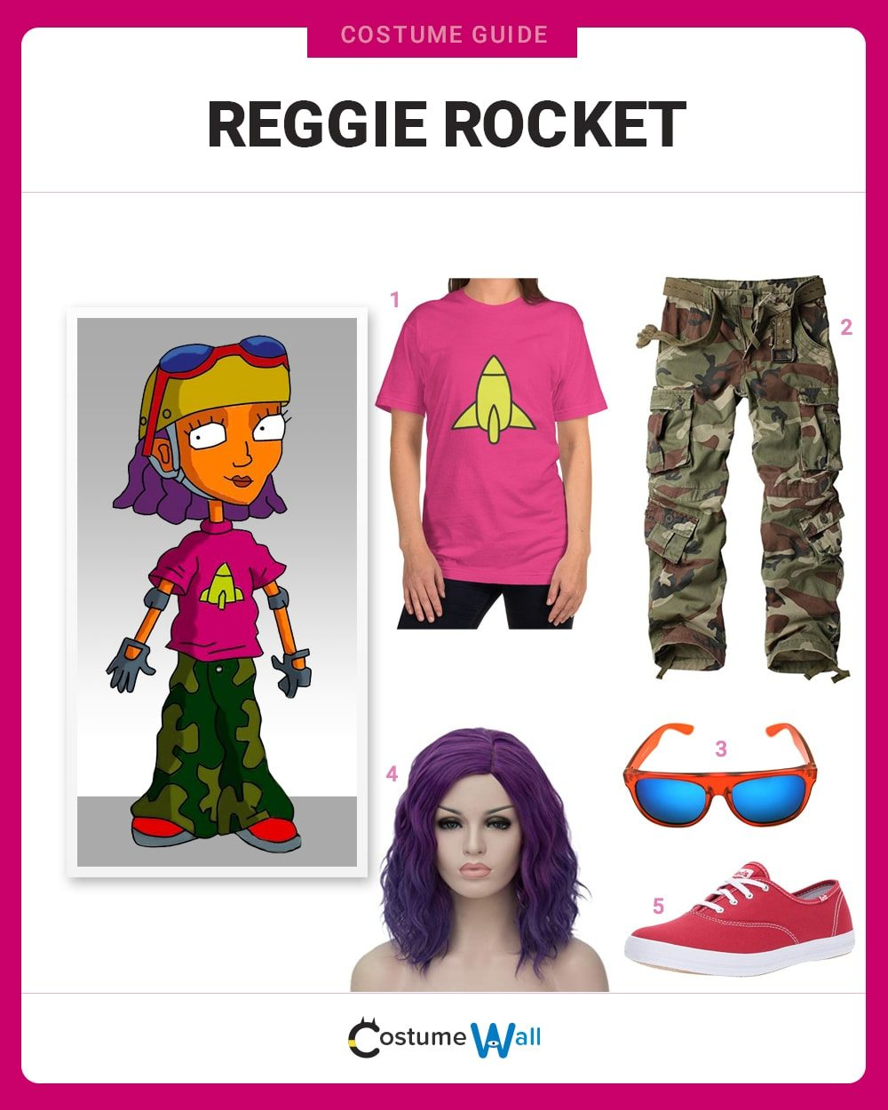 Reggie Rocket Costume Guide