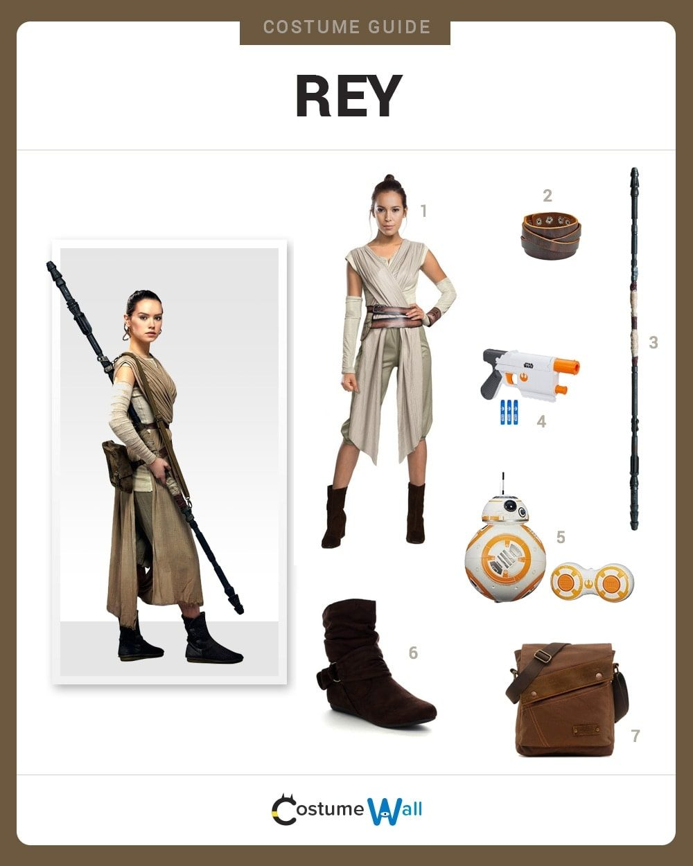 Dress Like Rey Costume Halloween And Cosplay Guides