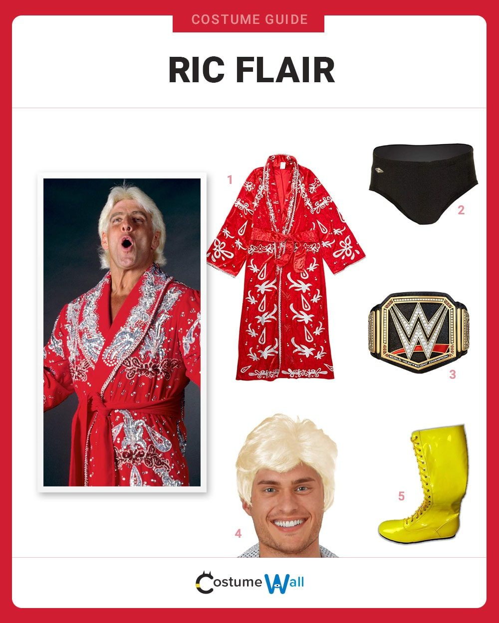 Ric Flair Costume Guide