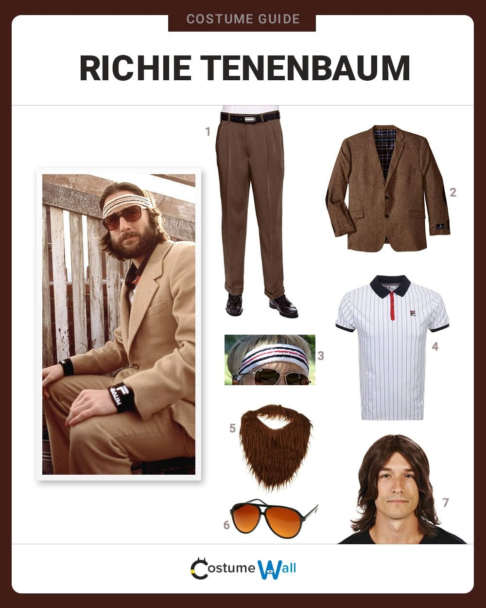 Richie Tenenbaum Costume Guide