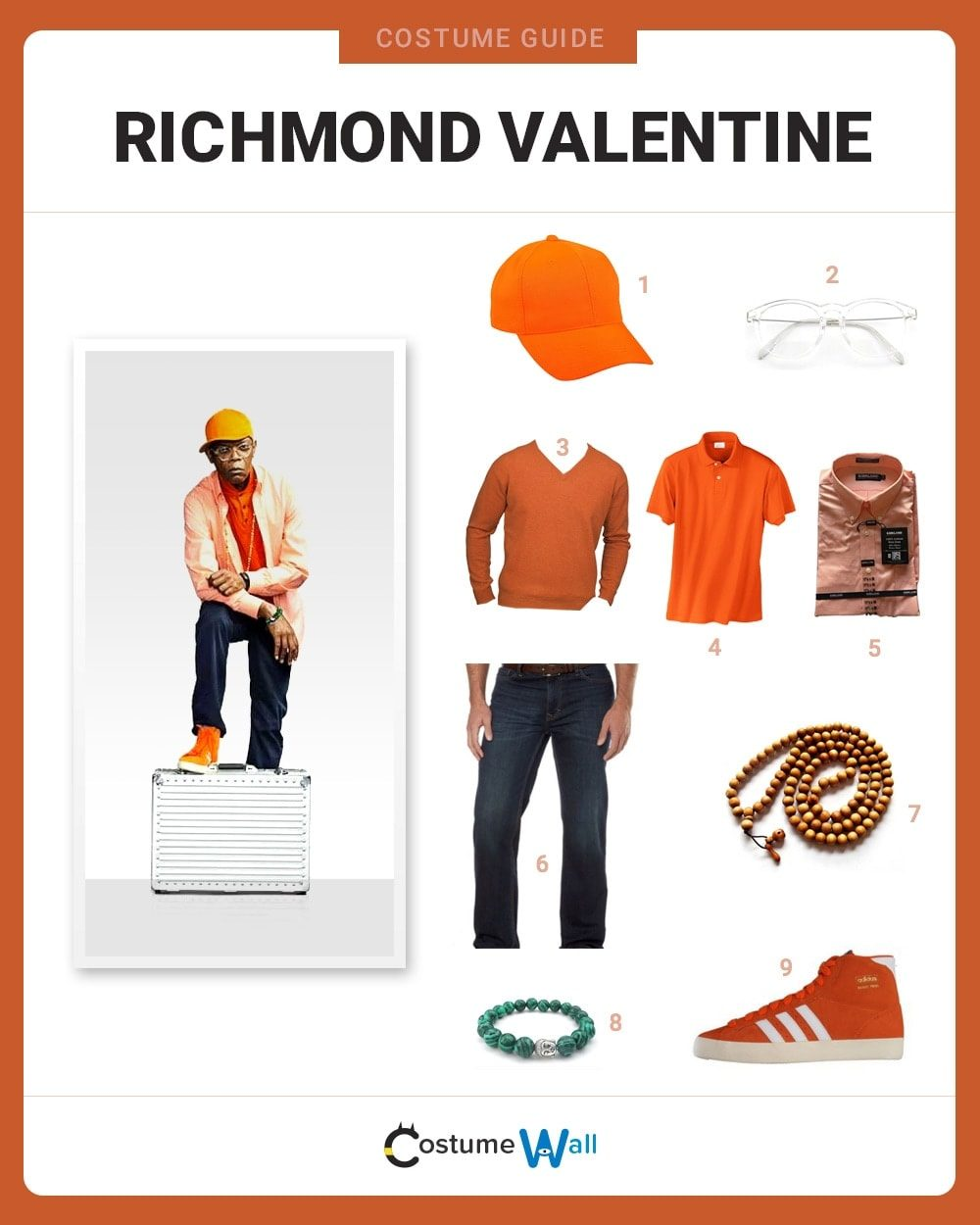 Richmond Valentine Costume