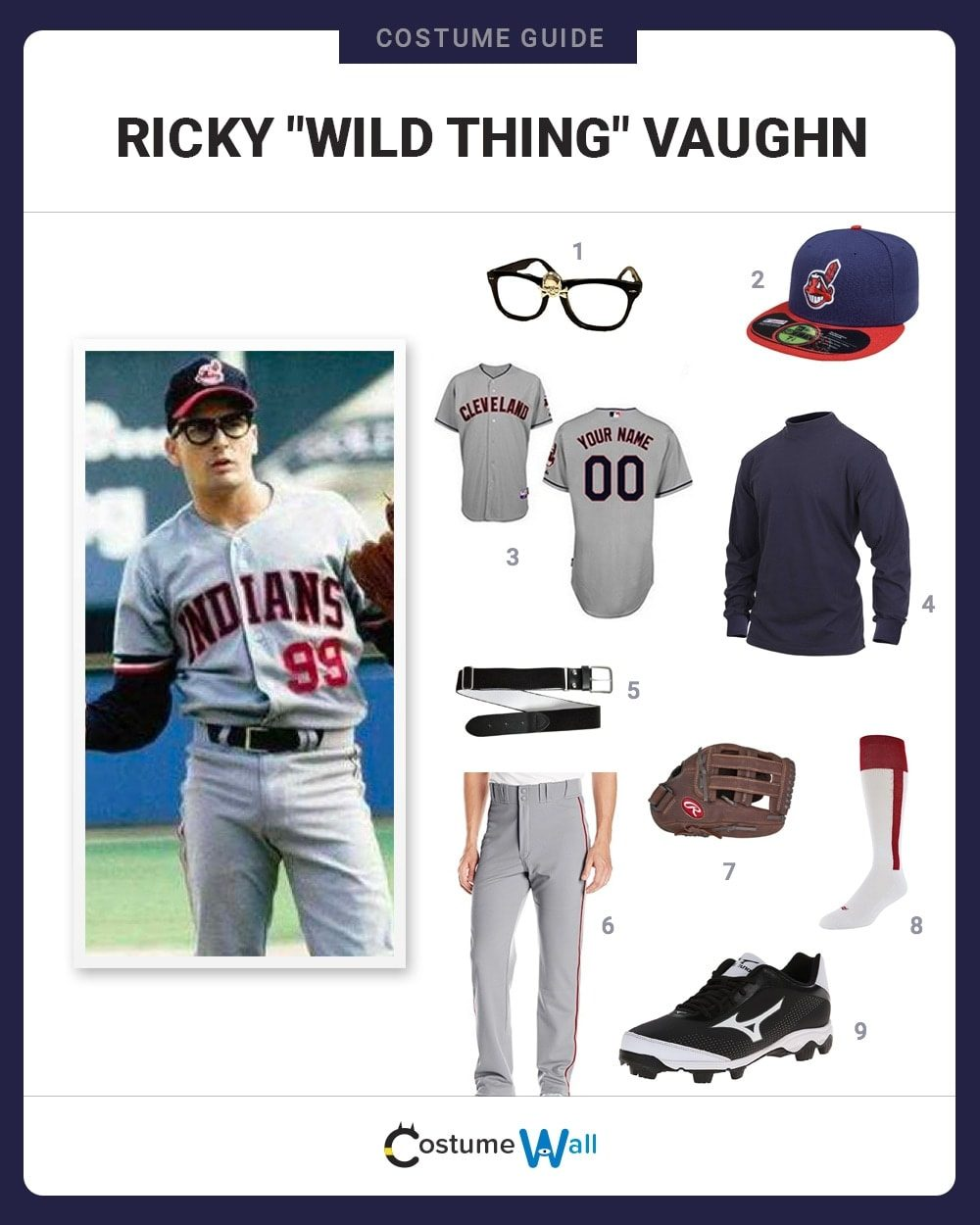 Ricky Vaughn Halloween Costume Seven Deadly Sins Best Inidual