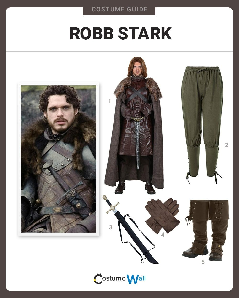 Robb Stark Costume Guide