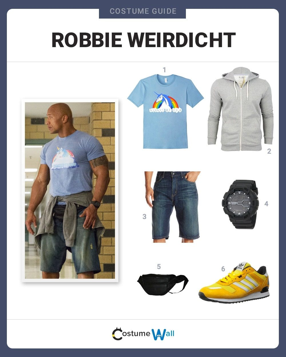 Robbie Weirdicht Costume Guide