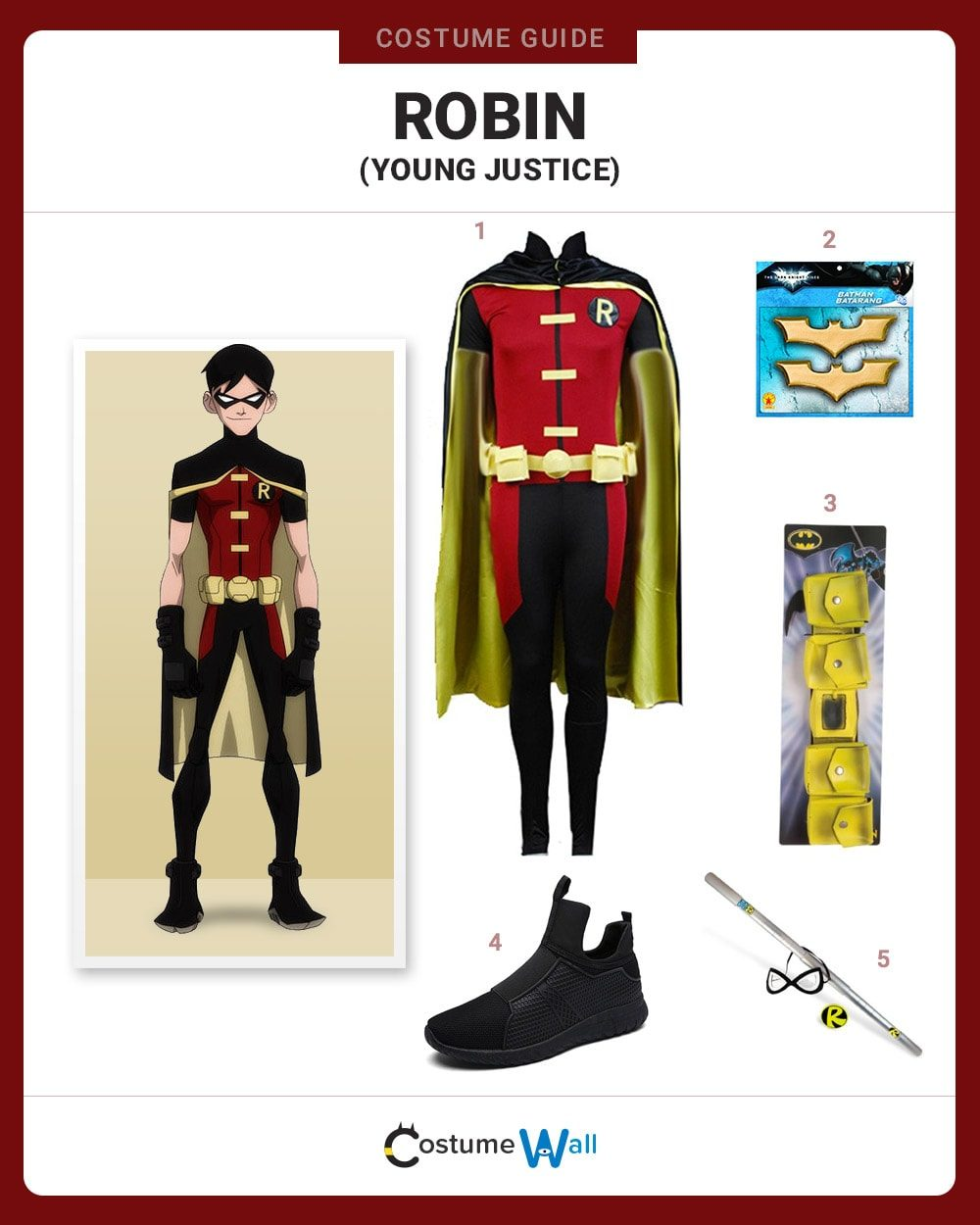 Robin (Young Justice) Costume Guide