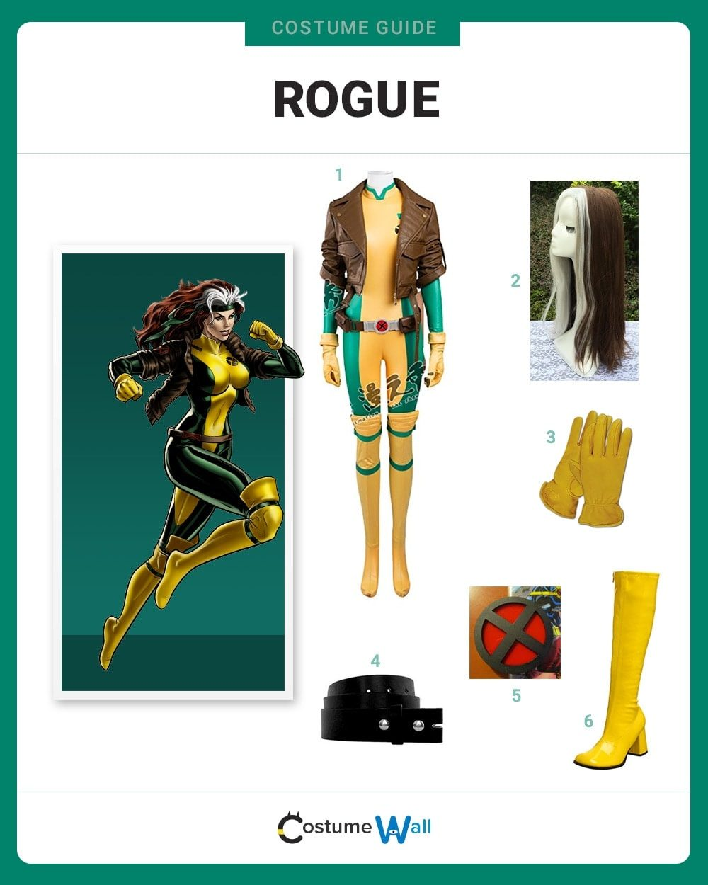 Image result for Rogue Costume