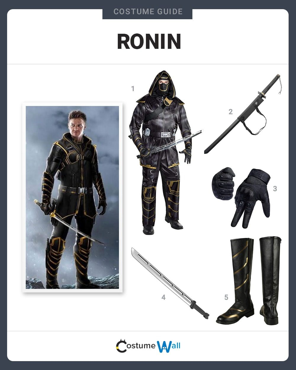 Ronin Costume Guide