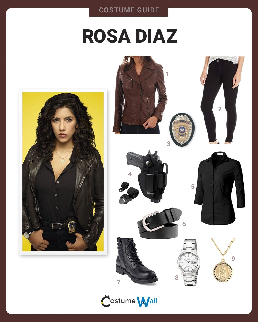 Rosa Diaz Costume Guide
