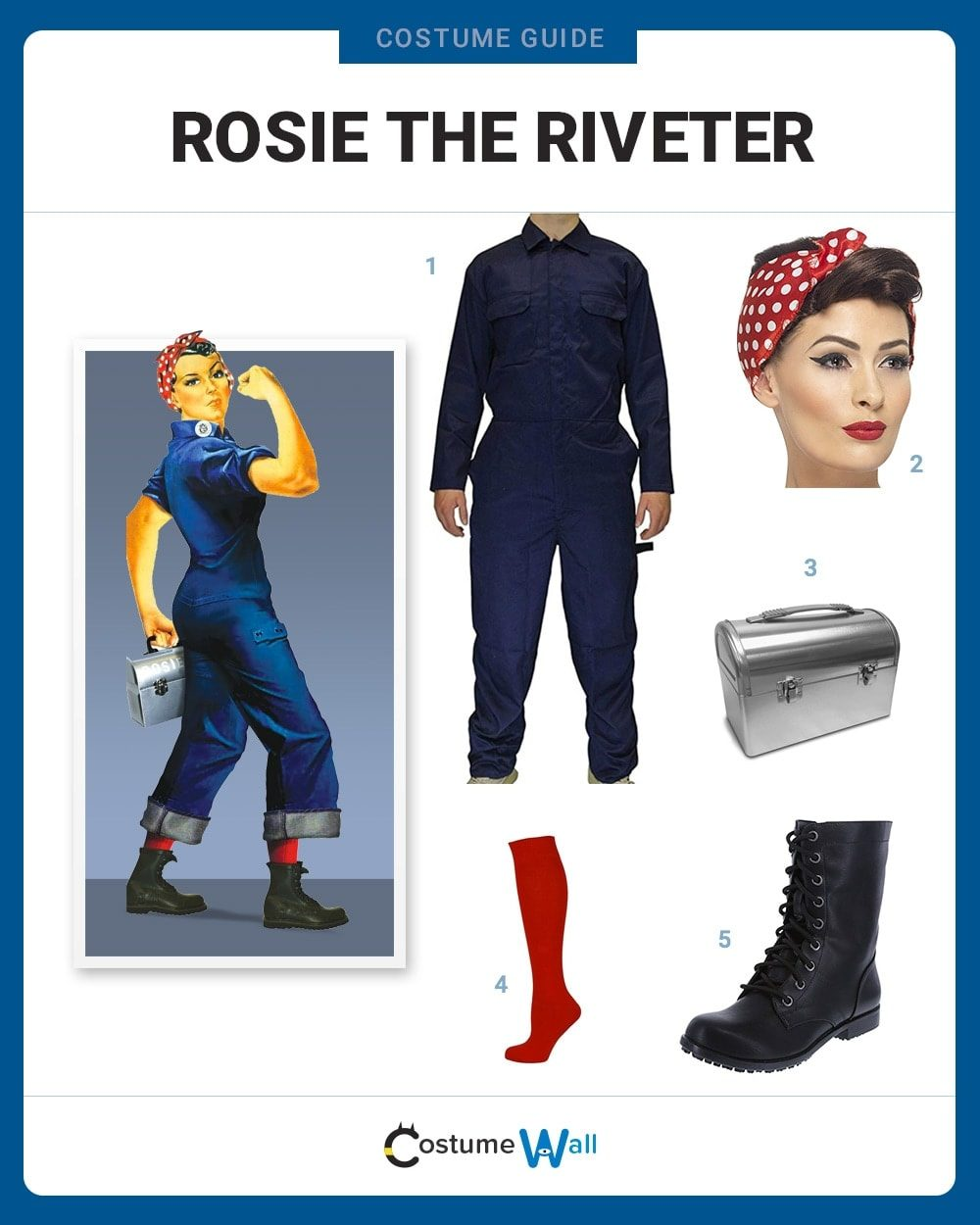 Rosie the Riveter Costume Guide