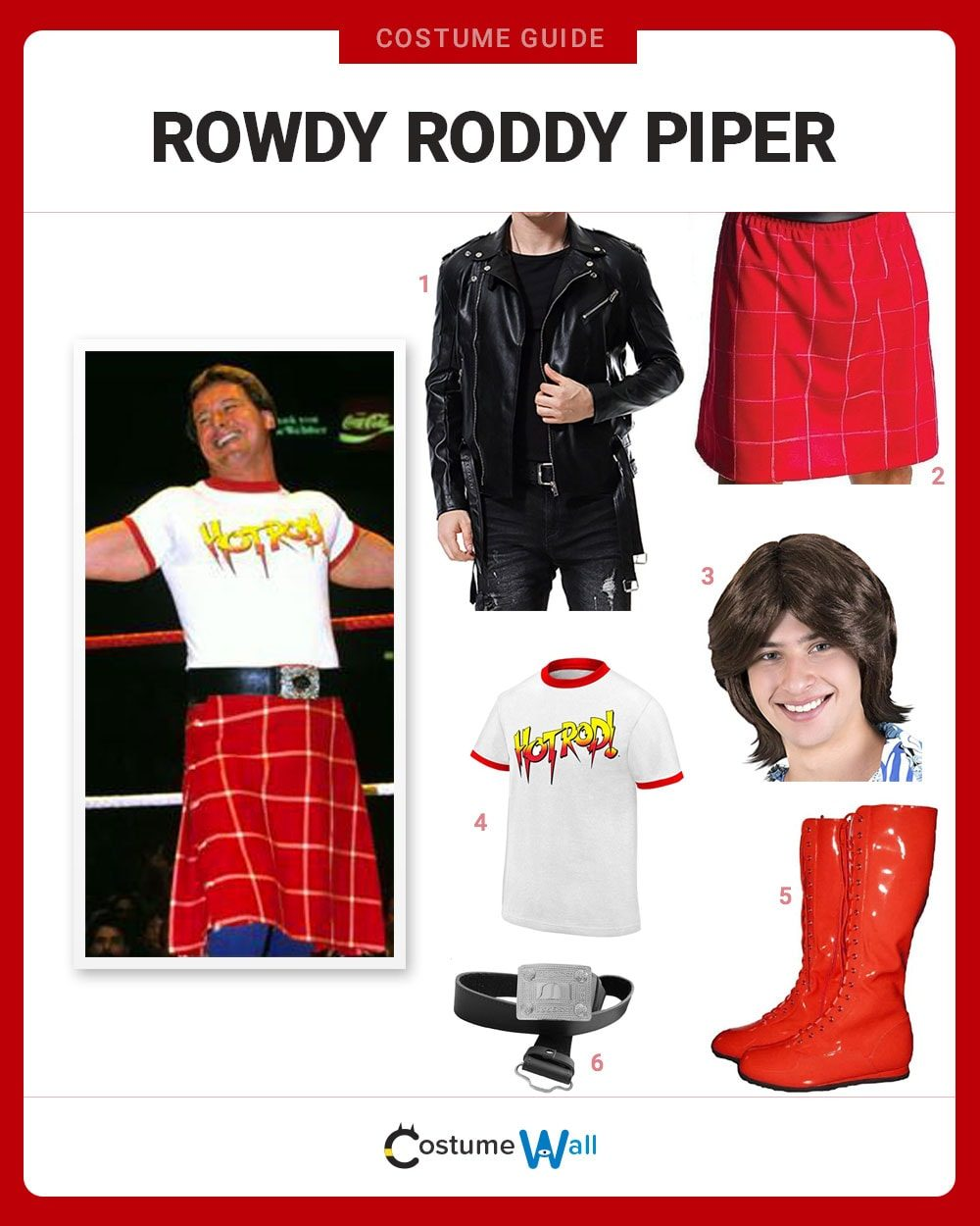Rowdy Roddy Piper Costume Guide