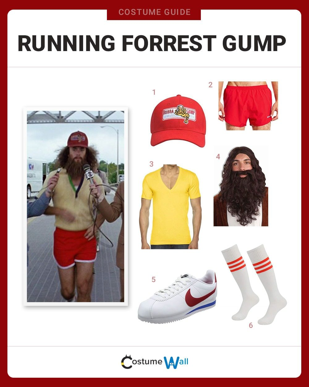 Running Forrest Gump Costume Guide