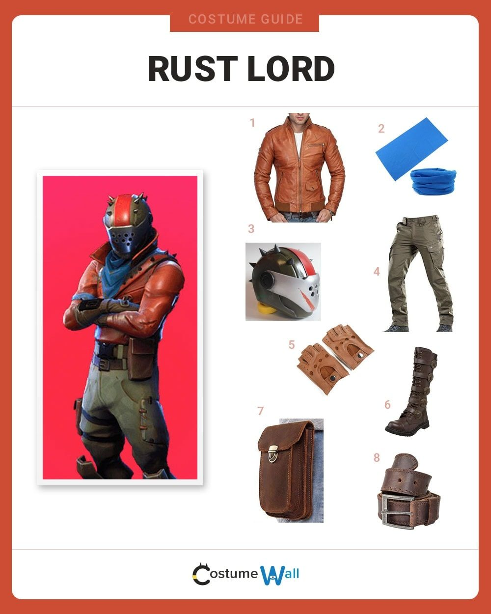 Rust Lord  Costume Guide