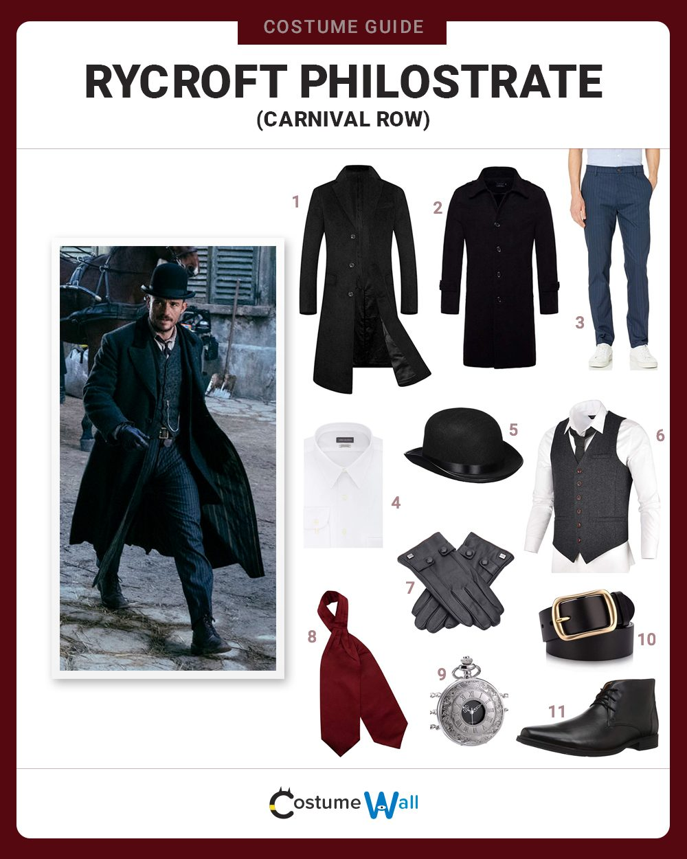 Rycroft Philostrate Costume Guide