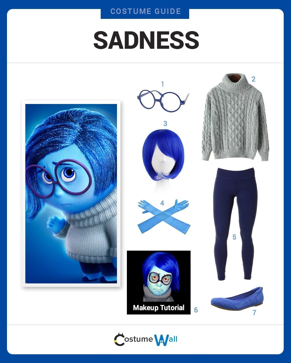 Sadness Costume Guide