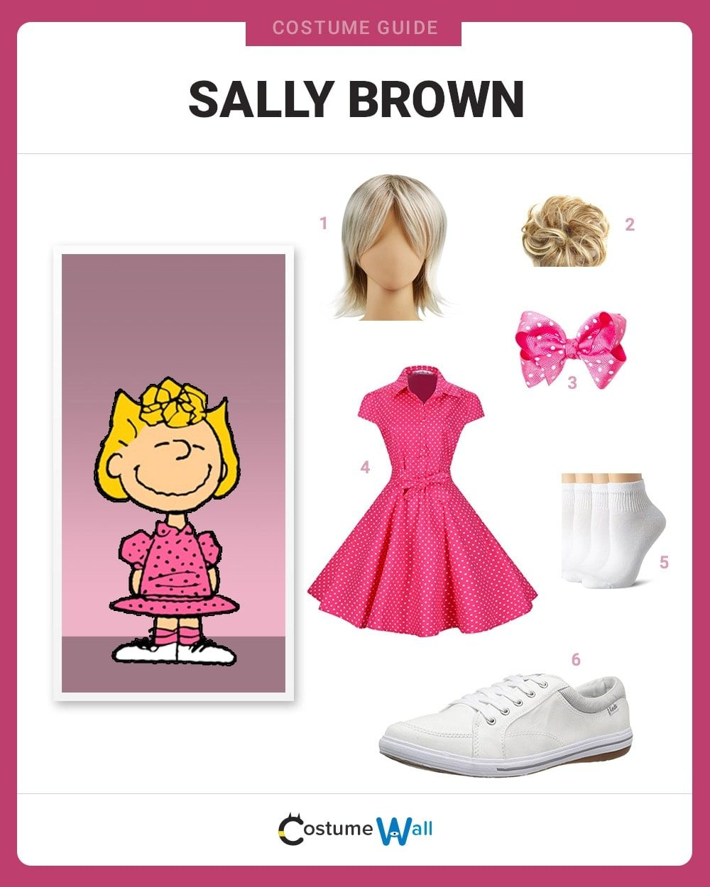 Sally Brown Costume Guide