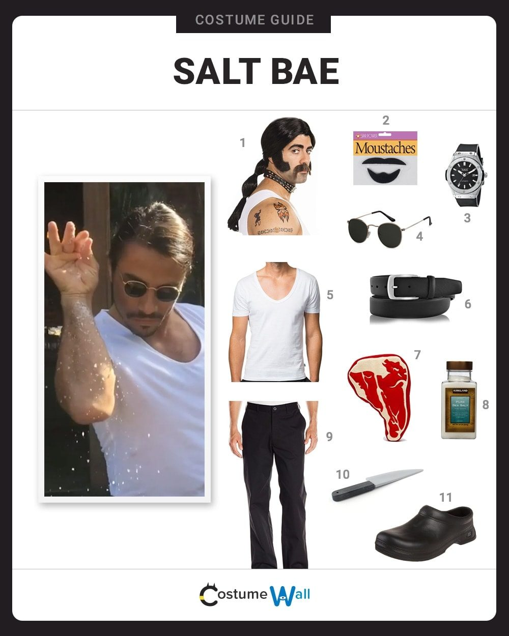 Dress Like Salt Bae Costume | Halloween And Cosplay Guides