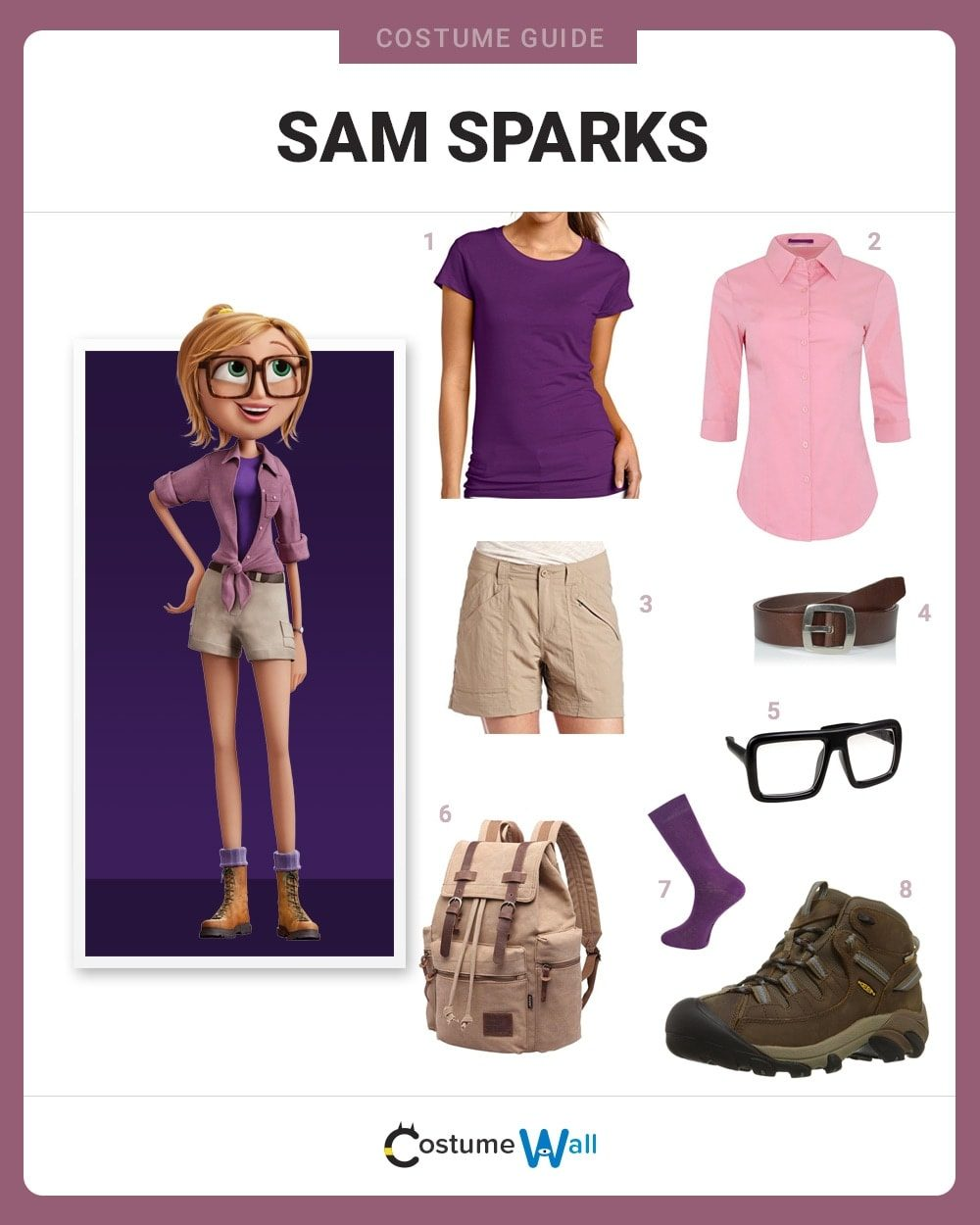 Sam Sparks Costume Guide