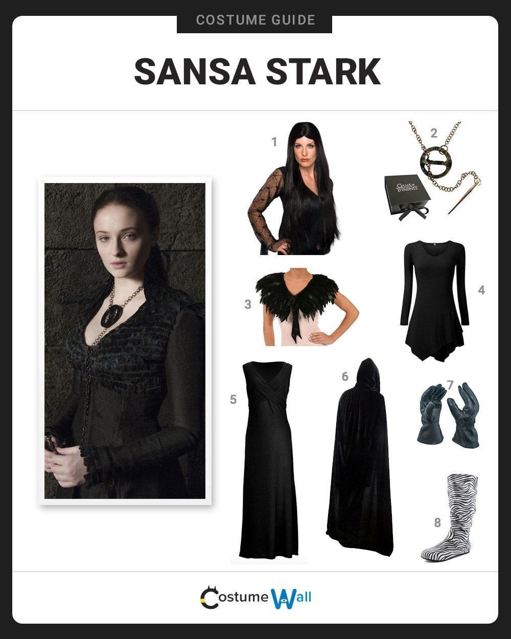Sansa Stark Costume Guide