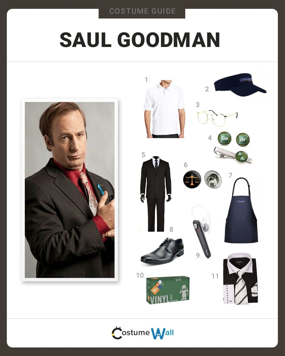 Saul Goodman Costume Guide