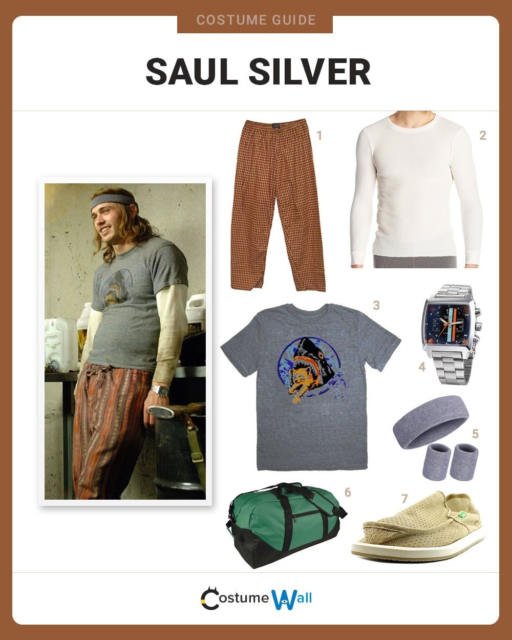 Saul Silver Costume Guide