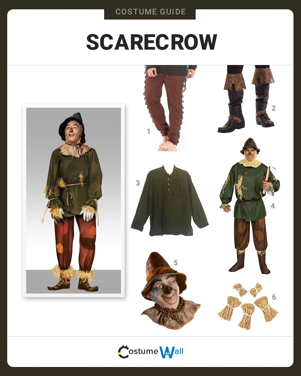 Scarecrow Costume Guide
