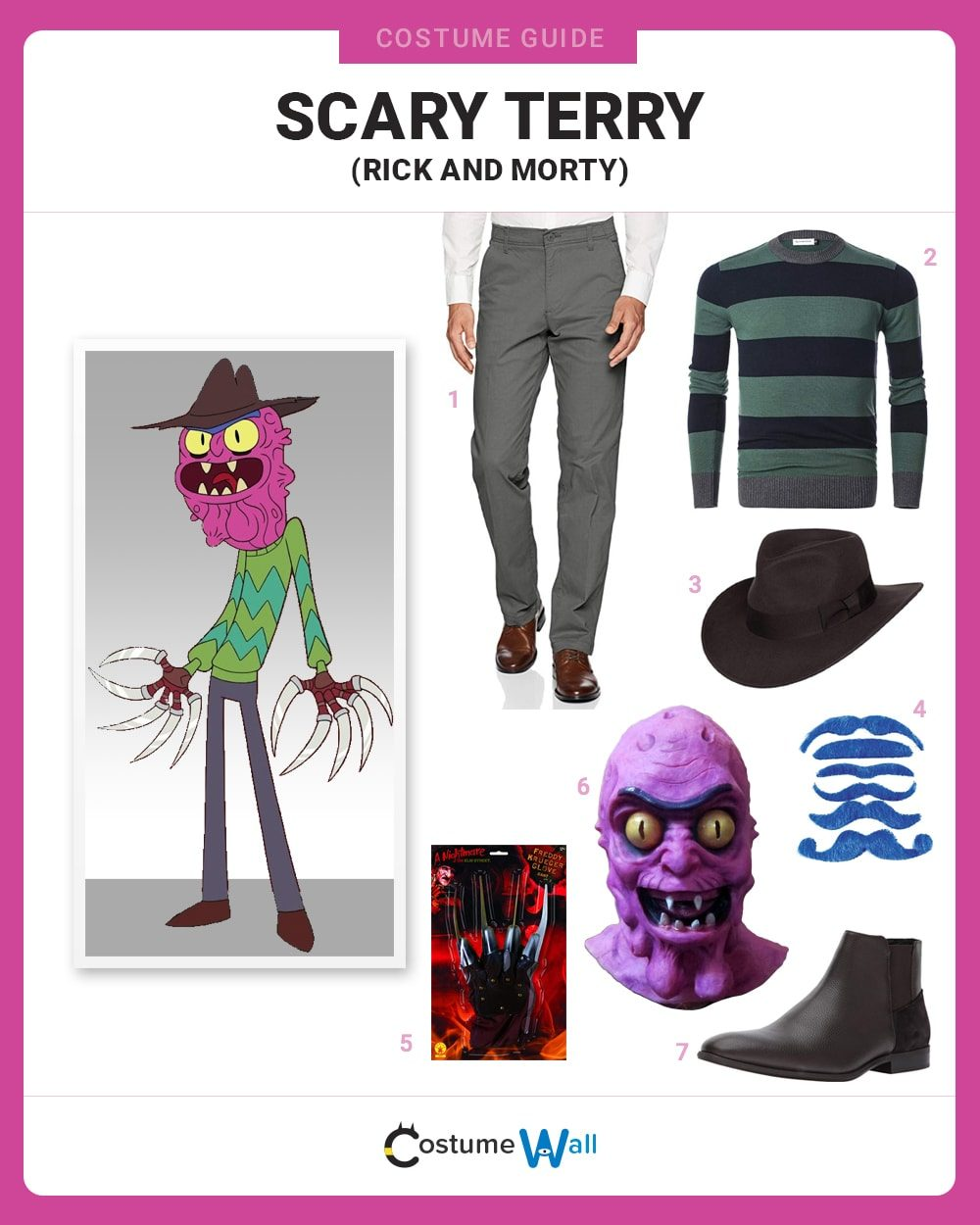 Scary Terry Costume Guide