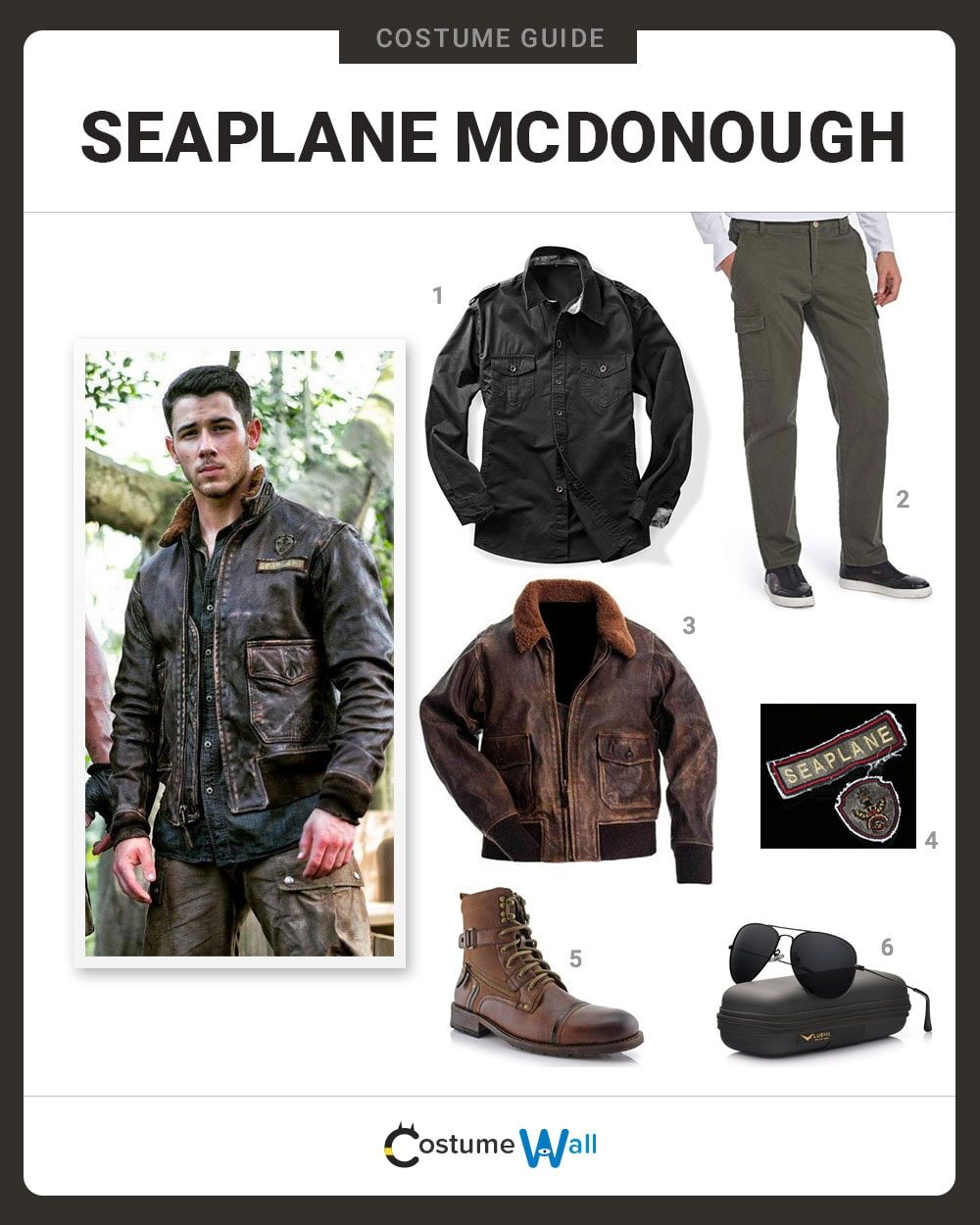 Seaplane McDonough Costume Guide