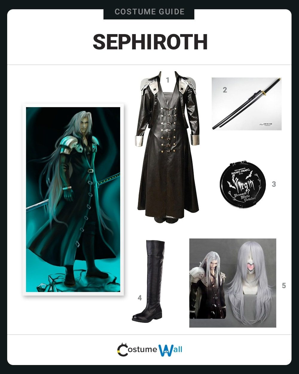 Sephiroth Costume Guide