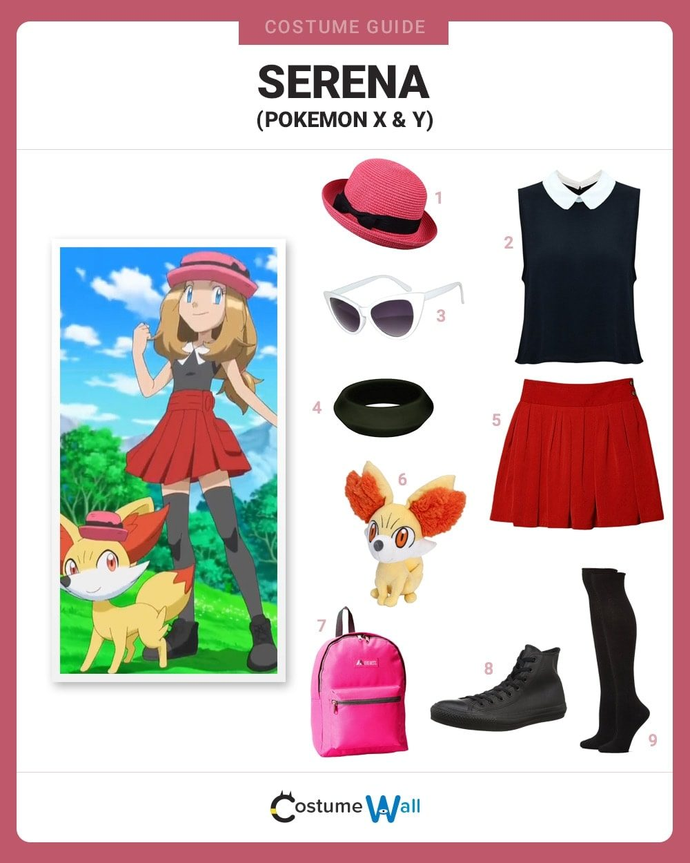 Serena Costume Guide