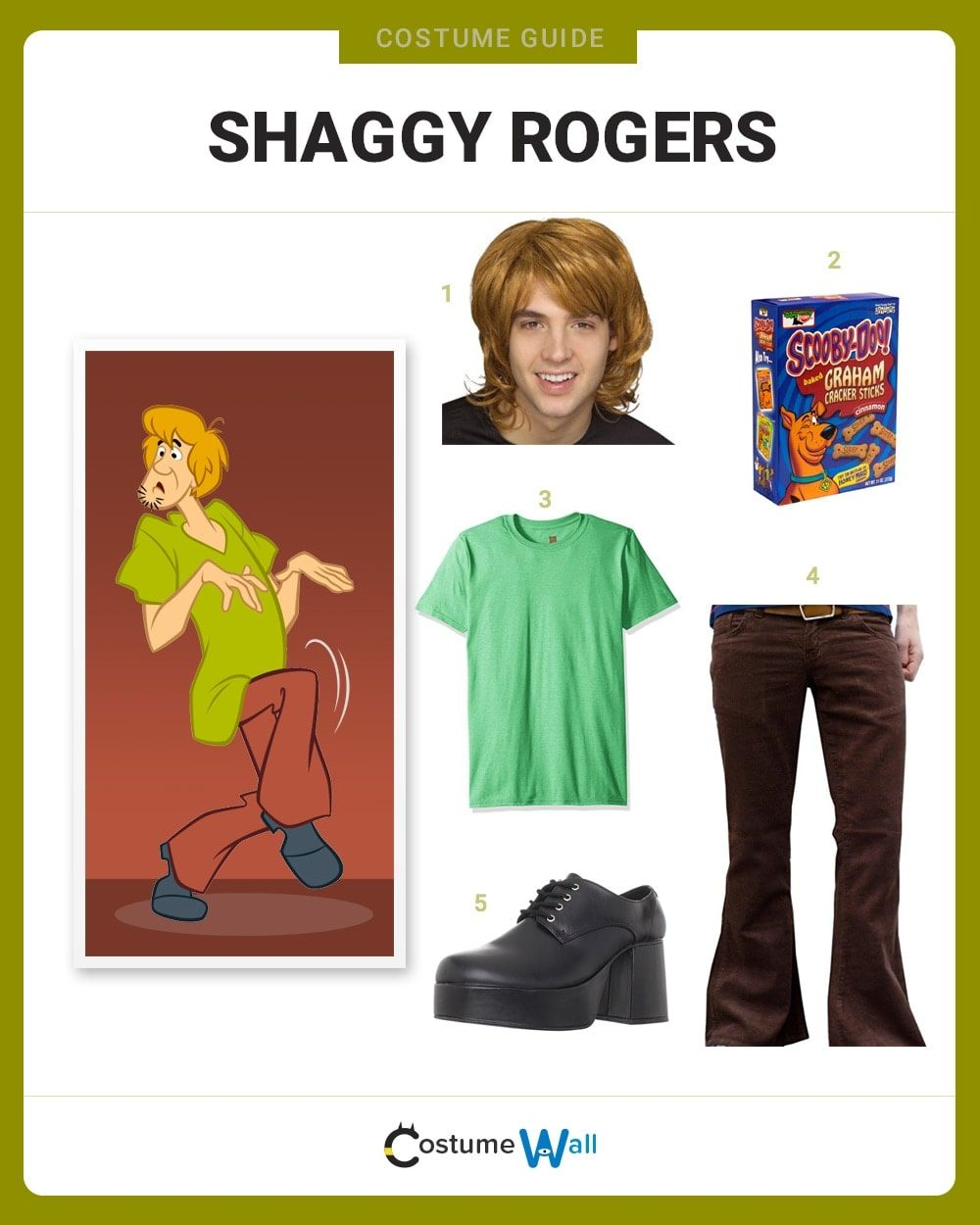 Shaggy Rogers Costume Guide