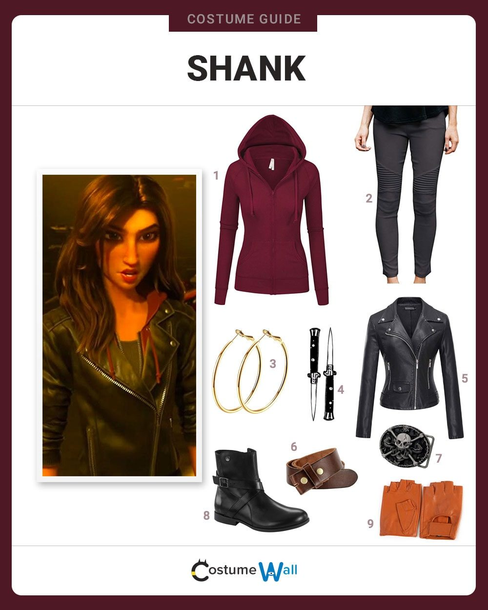 Shank Costume Guide