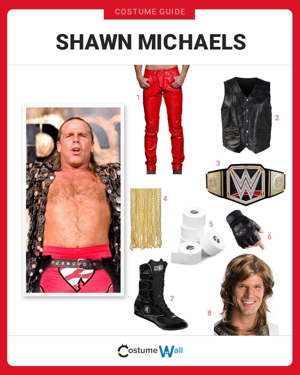 Shawn Michaels Costume Guide