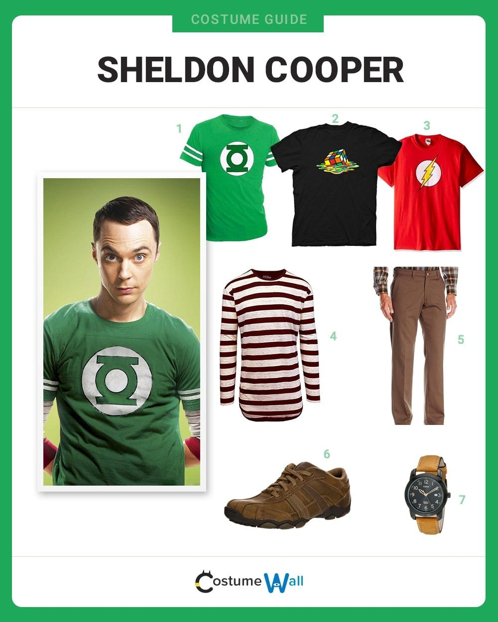 Sheldon Cooper Costume Guide