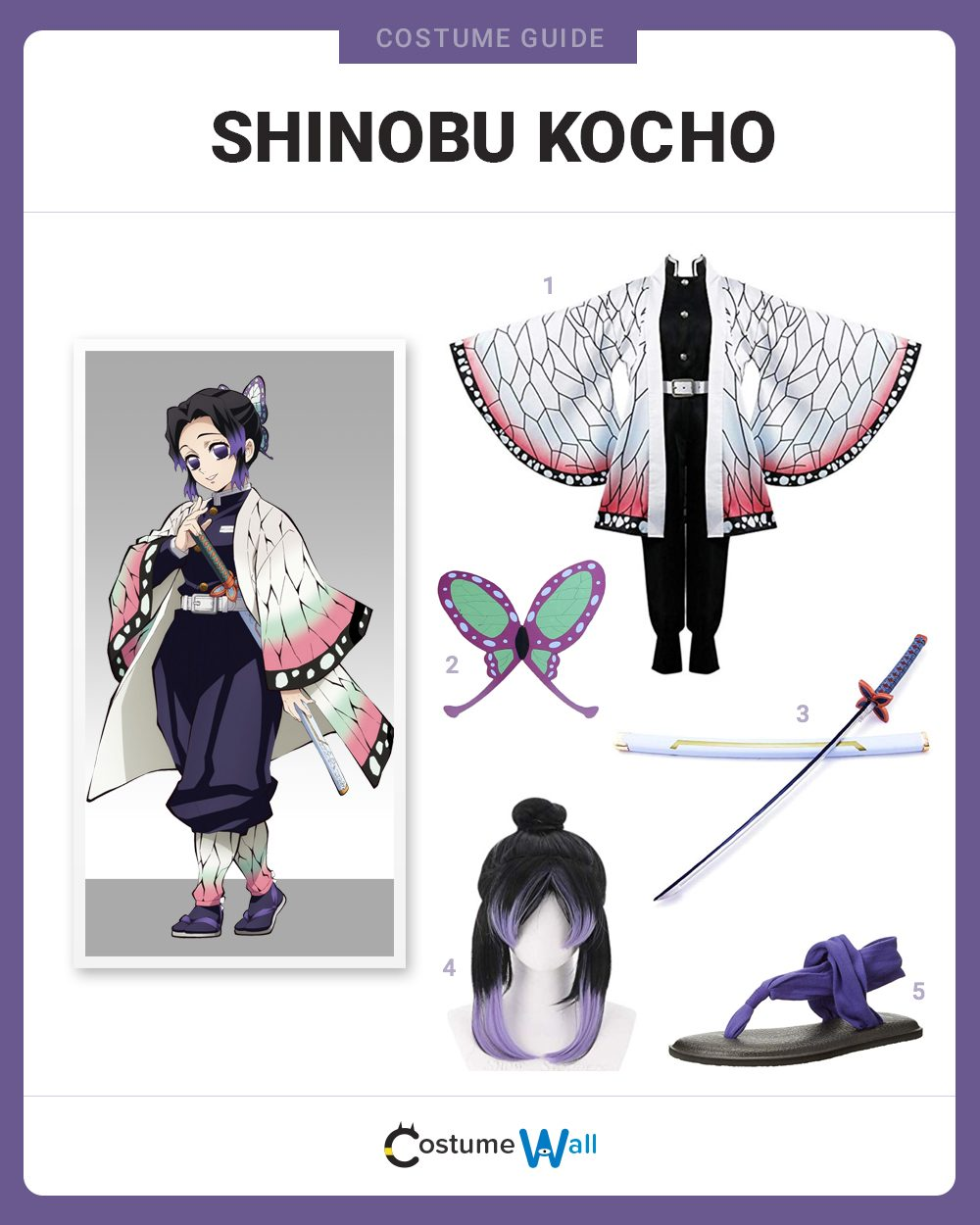 Shinobu Kocho Costume Guide