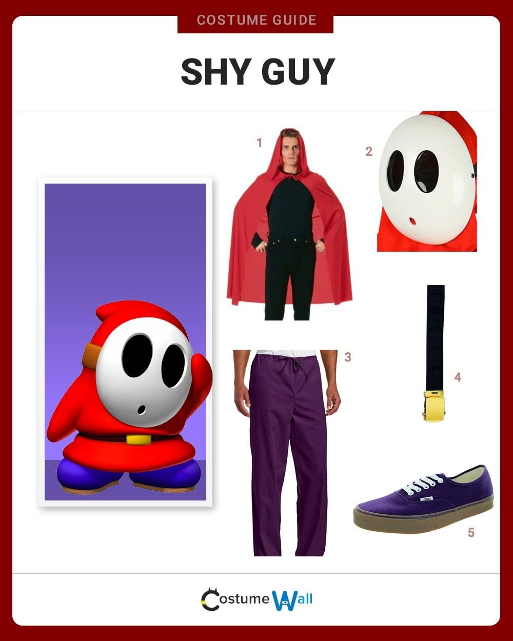 Shy Guy Costume Guide