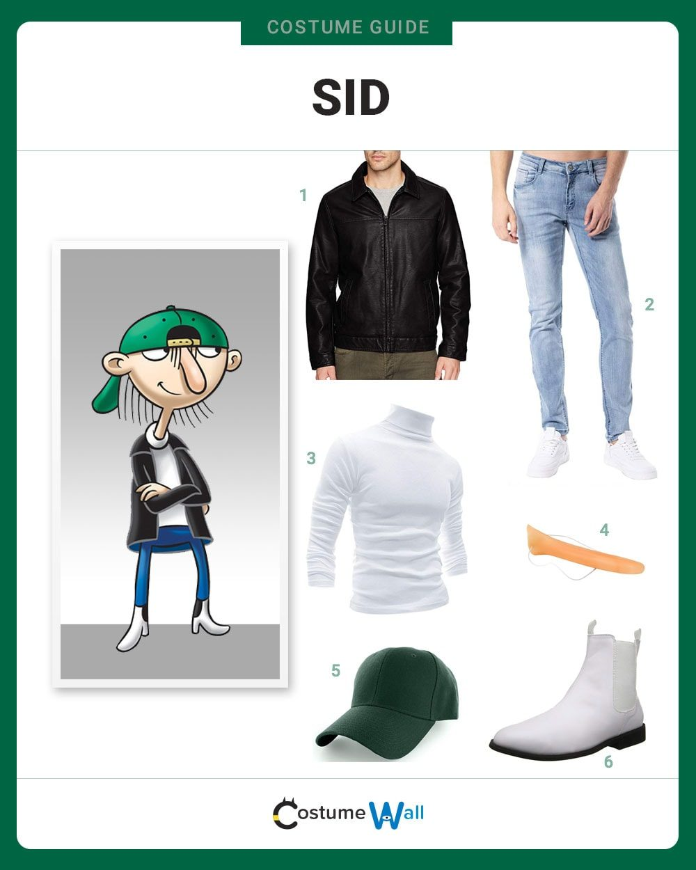 dress like sid from hey arnold! costume | halloween and cosplay guides