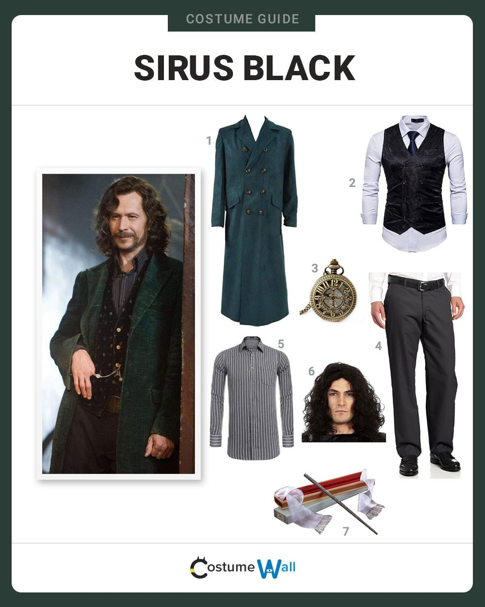 Sirius Black Costume Guide