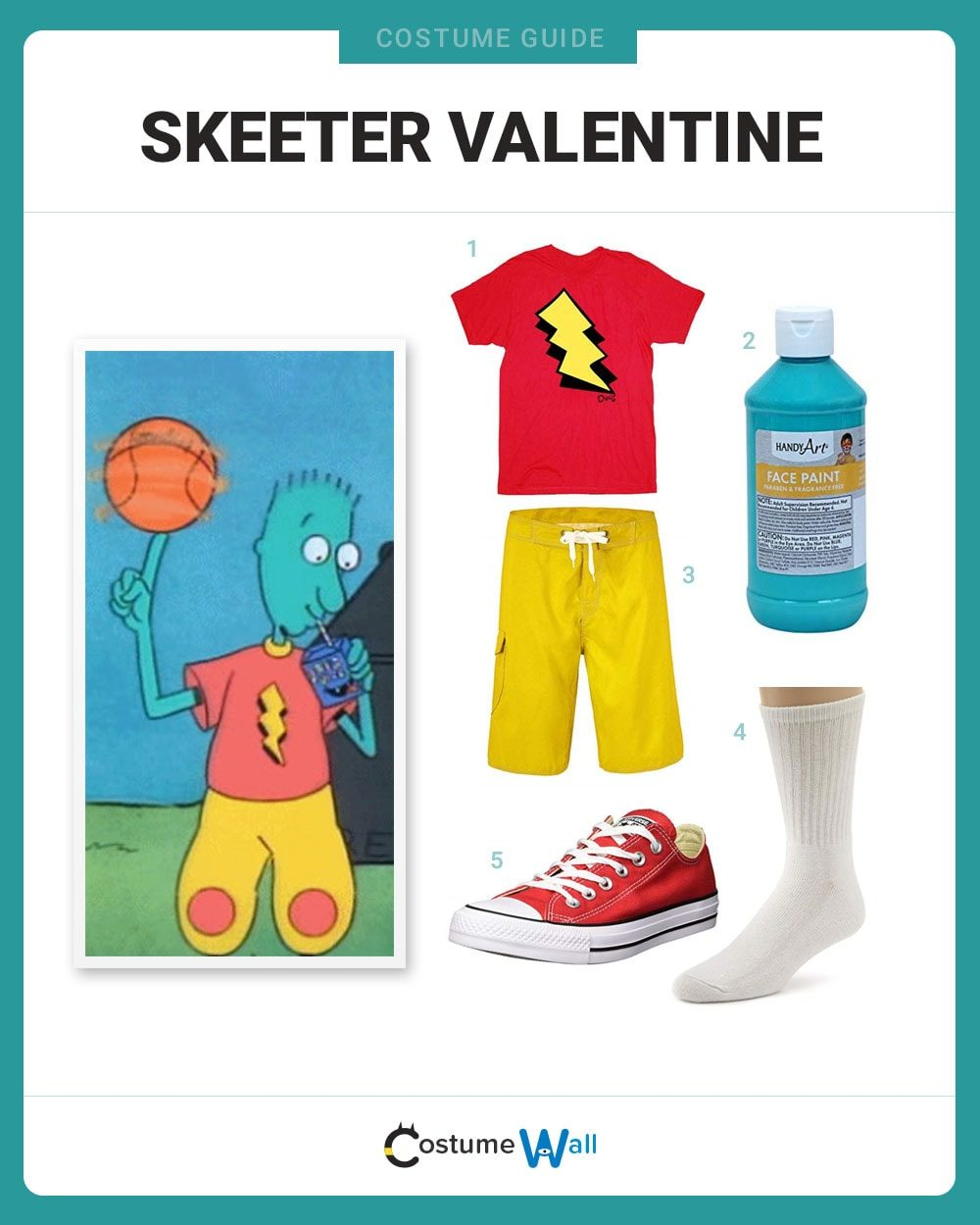 Skeeter Valentine Costume Guide