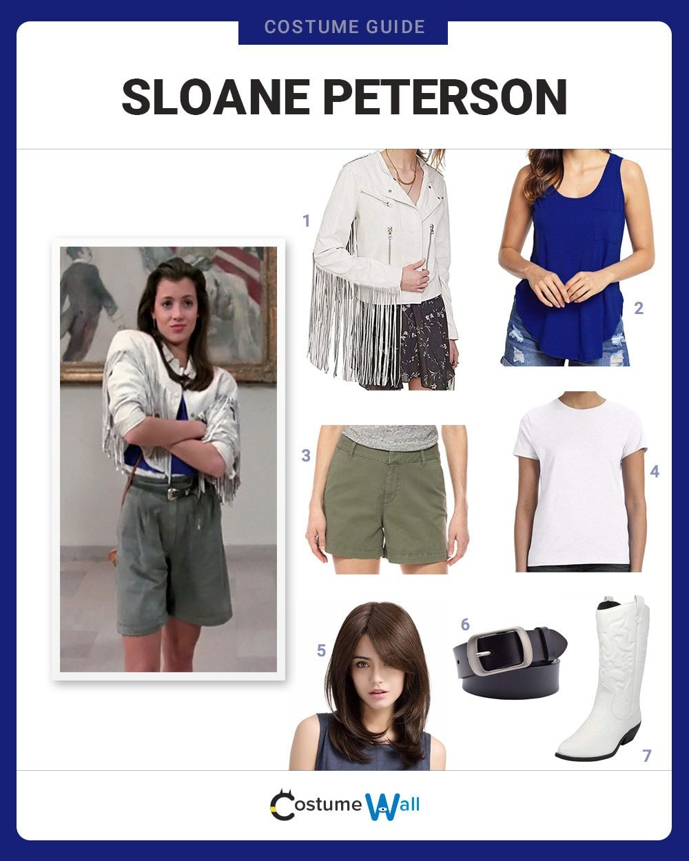 Sloane Peterson Costume Guide