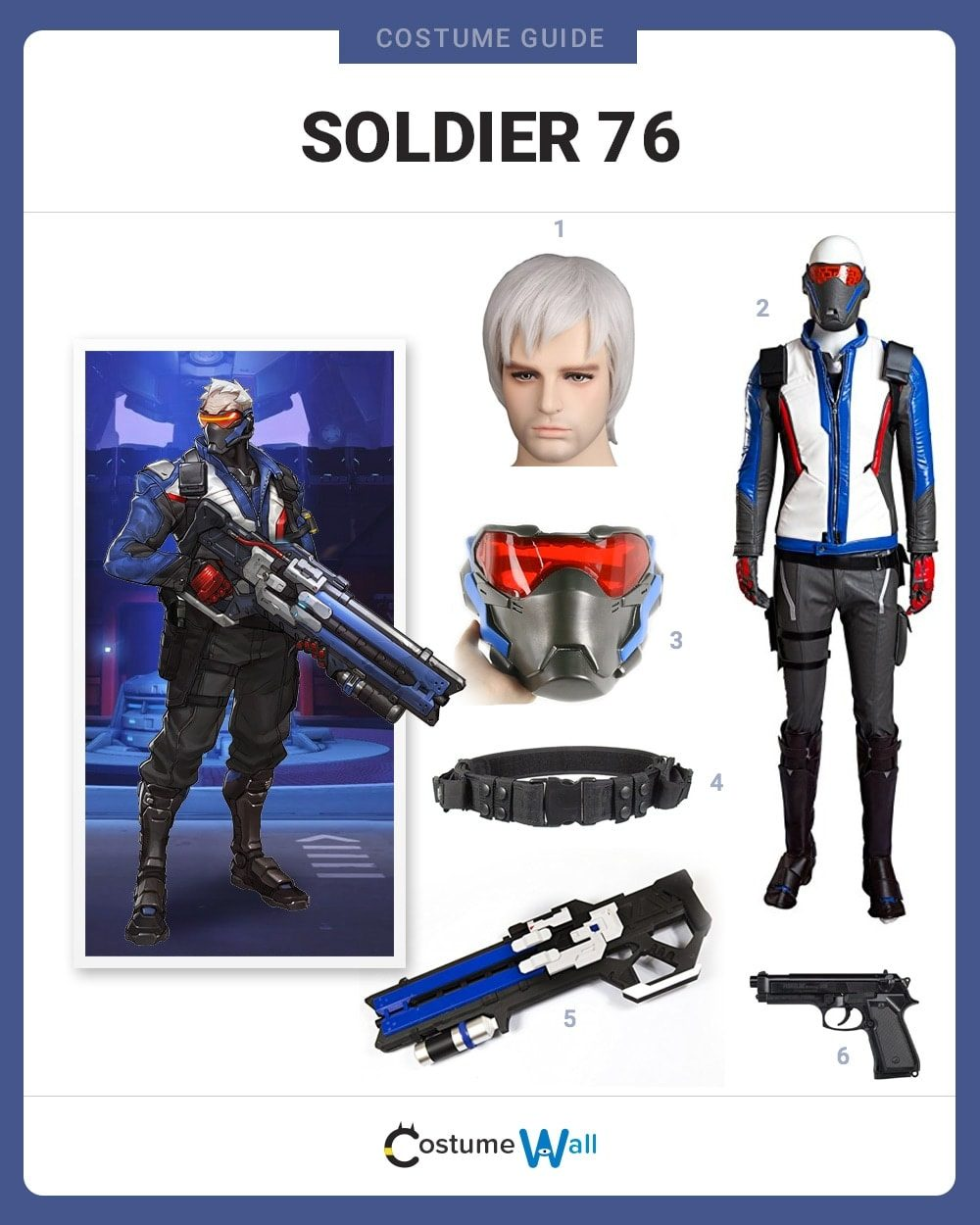 Soldier: 76 Costume Guide