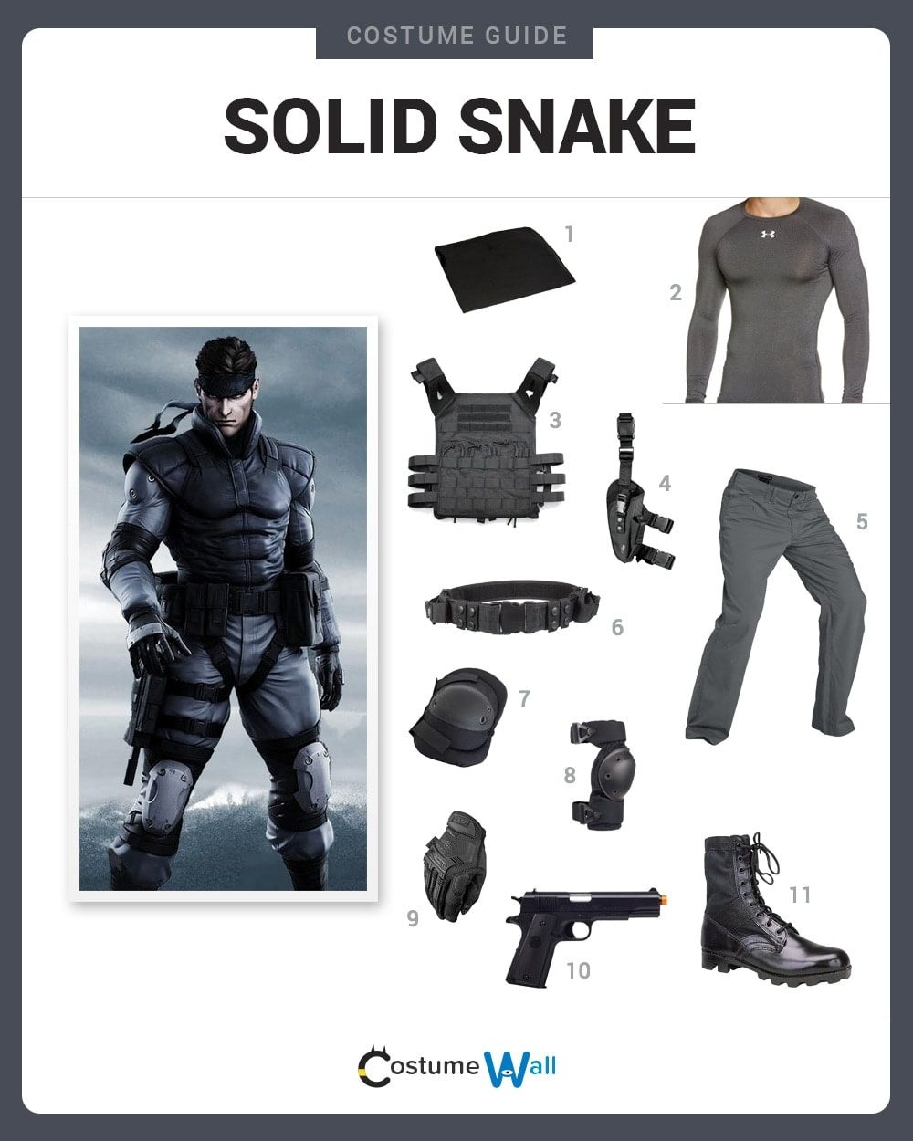 Solid Snake Costume Guide