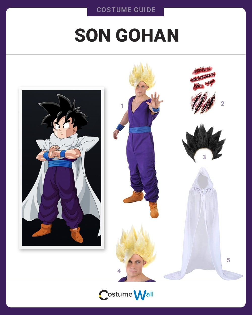 Son Gohan Costume Guide
