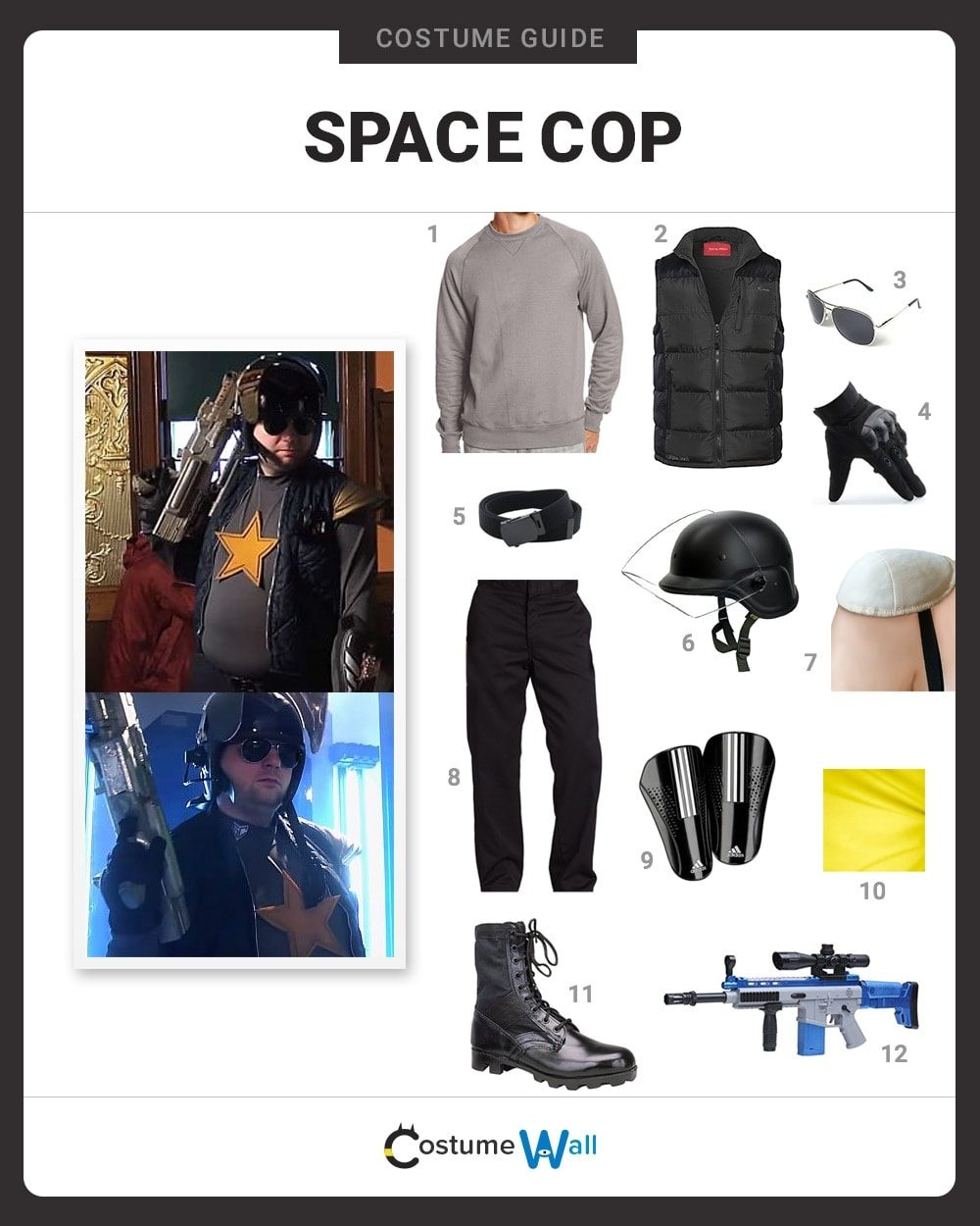 Space Cop Costume Guide