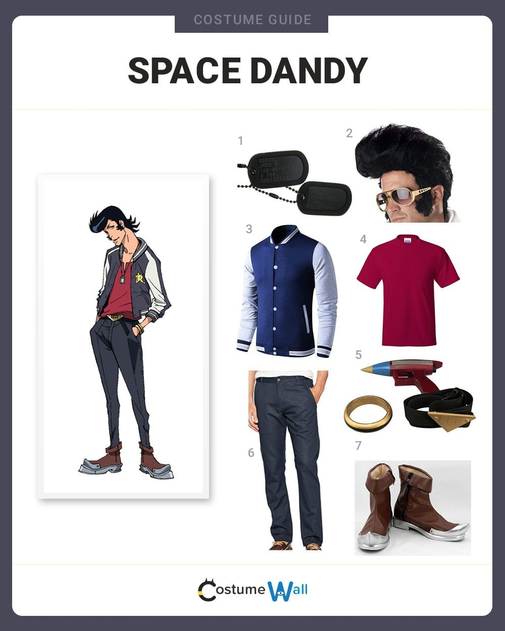 Space Dandy Costume Guide