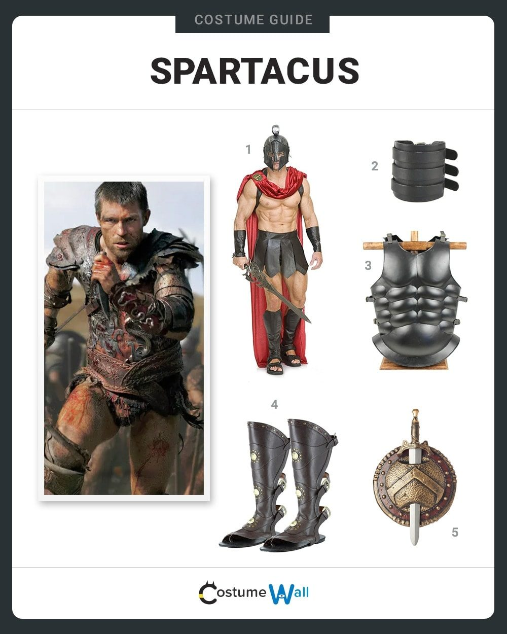 Spartacus Costume Guide