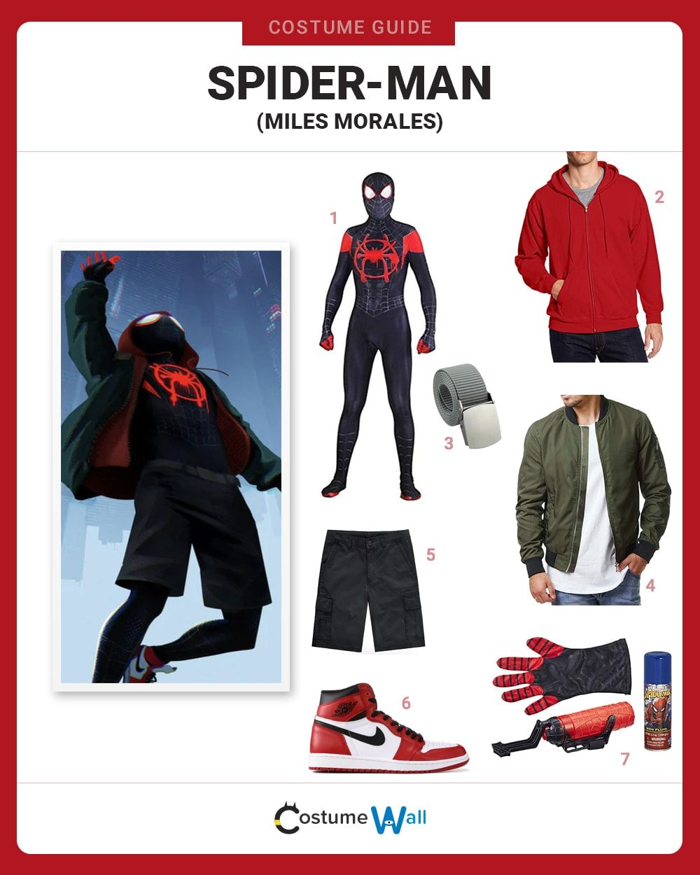 Spider-Man (Miles Morales) Costume Guide