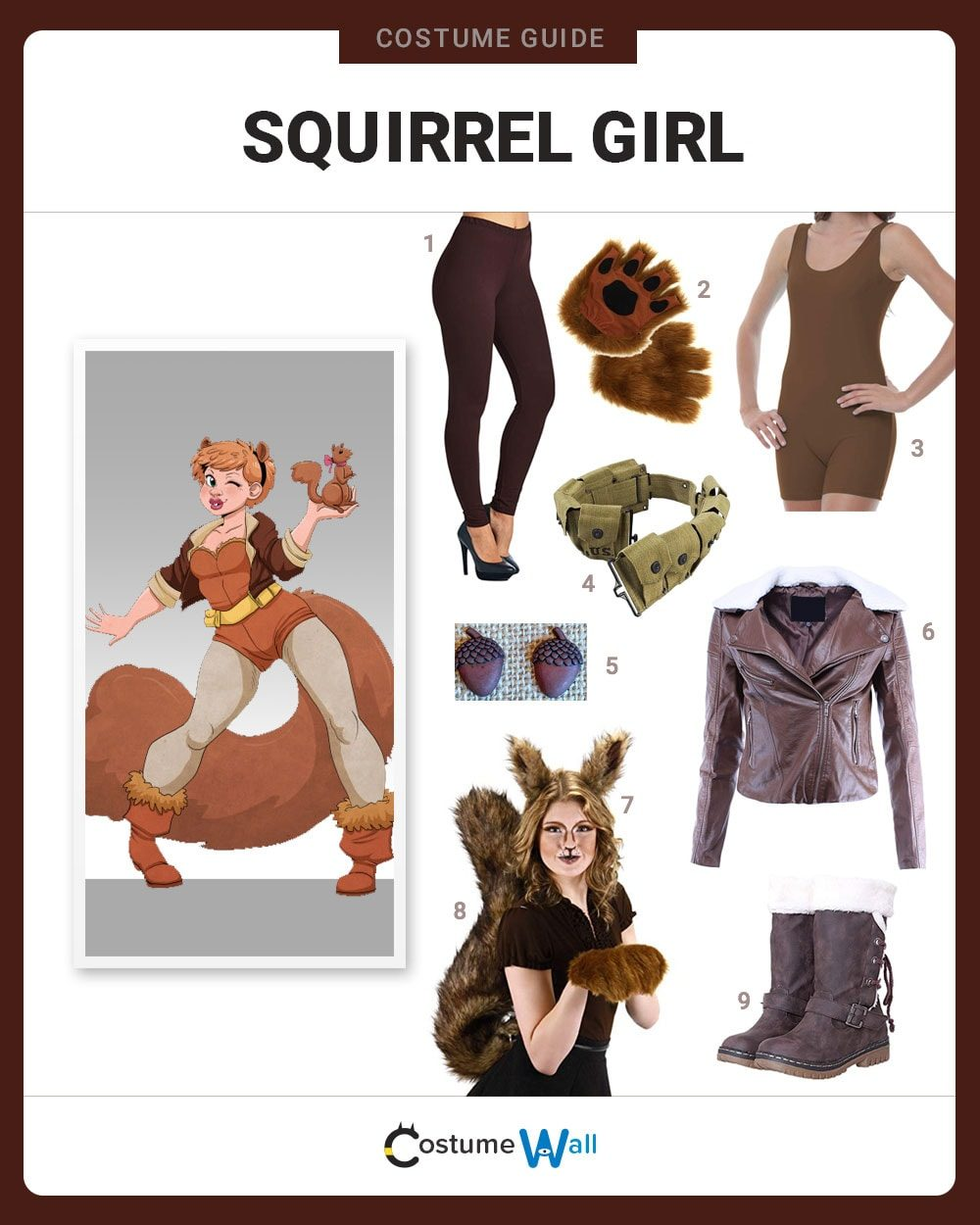 Squirrel Girl Costume Guide
