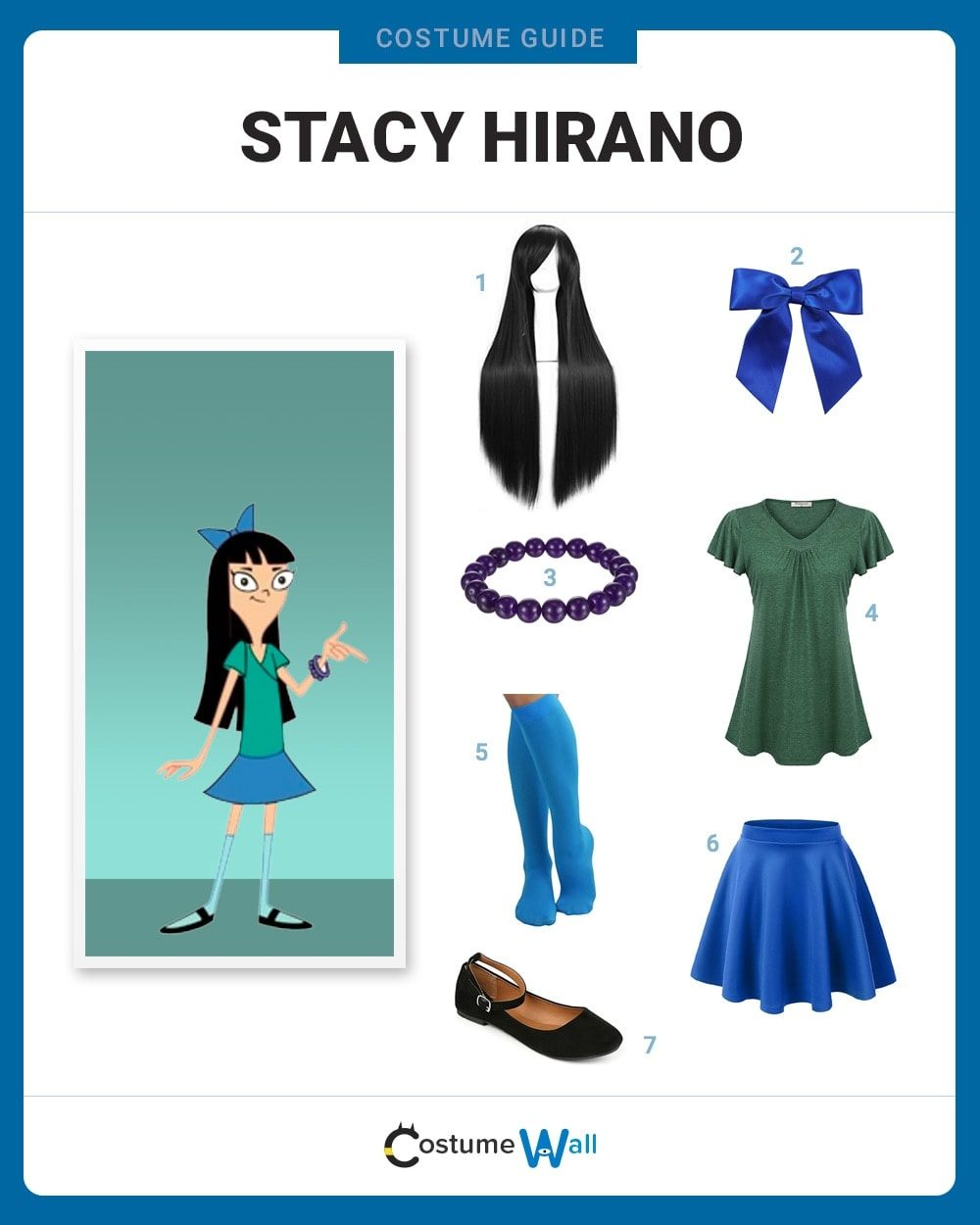 Stacy Hirano Costume Guide