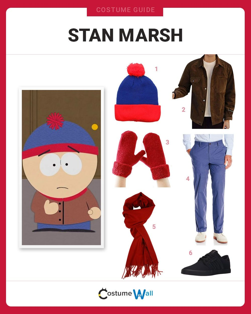 80ffb327b65 How to Dress Like Stan Marsh. South Park ...