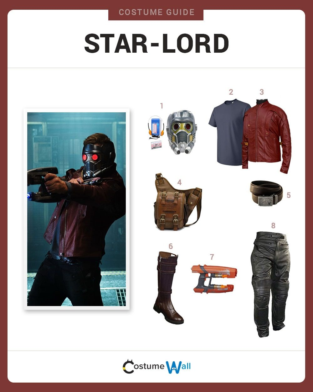 Star-Lord Costume Guide